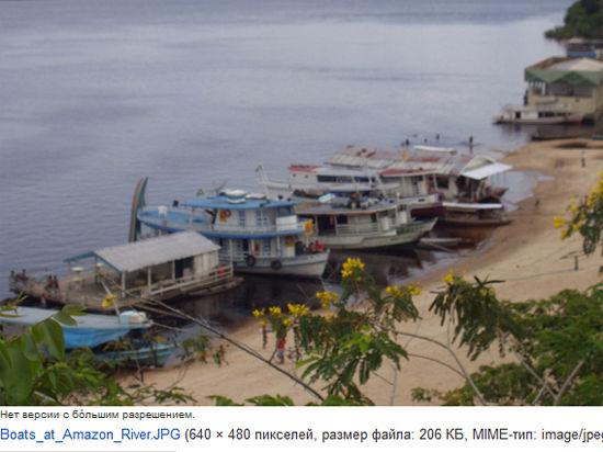 На Амазонке затонуло судно с россиянами, есть жертвы и пропавшие без вести