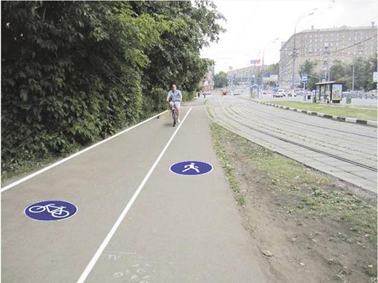 Пешеходы поделятся тротуаром с велосипедистами