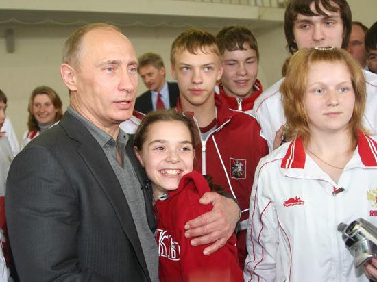 Путин и Сотникова: самая первая встреча! Пять лет назад