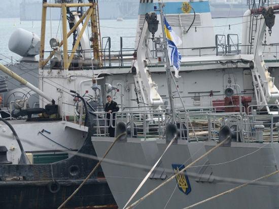 Уходят. Ушли. Украинского флота в Крыму больше нет