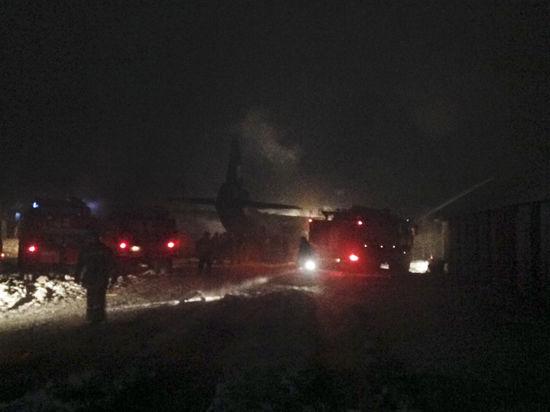 В самолете, разбившемся под Иркутском, могут быть выжившие