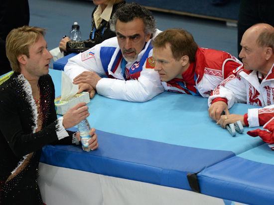 Евгений Плющенко отказался исполнять короткую программу из-за травмы