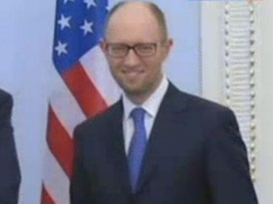 Яценюк проведет переговоры с Обамой