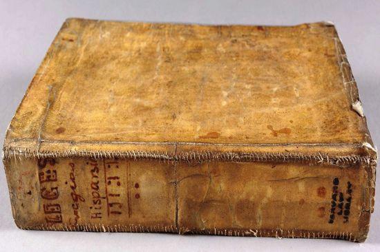 В библиотеке Гарварда найдены книги с переплетом из кожи людей