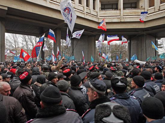 Верховный совет Крыма захватили «профессионально обученные люди»