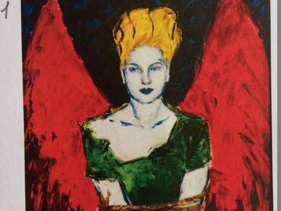 Евгению Васильеву в день ее выставки оградили от художественных критиков