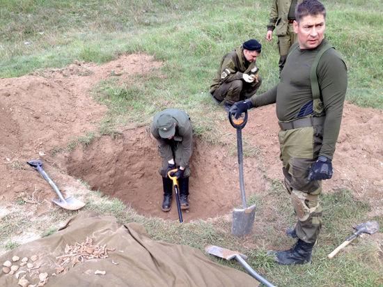 В Крыму перезахоронят неизвестных героев ВОВ