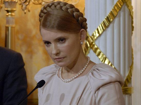 Тимошенко испугалась войны: Применение силы приведет к ответной агрессии России