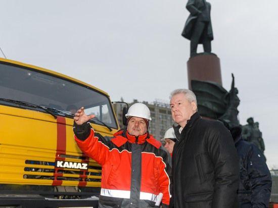 Сергей Собянин проверил как ремонтируется Октябрьский транспортный тоннель