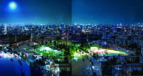 Победитель конкурса на разработку концепции будущего парка в Зарядье