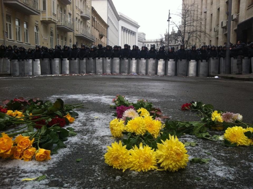 Евромайдан: оппозиция организовала эпохальную акцию в центре украинской столицы