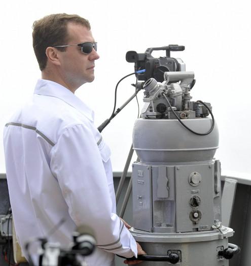 Медведев во Владивостоке