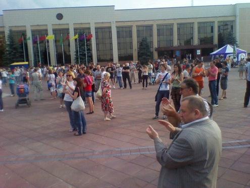 """В Минске разогнали """"молчаливую акцию"""" протеста"""