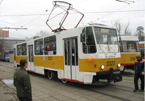 Москва провожает последний трамвай эпохи СССР