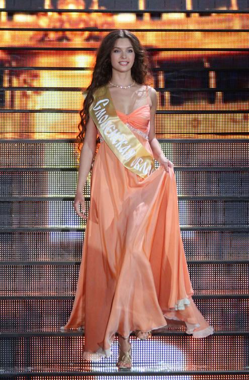 Елизавета Голованова стала «Мисс Россия 2012»