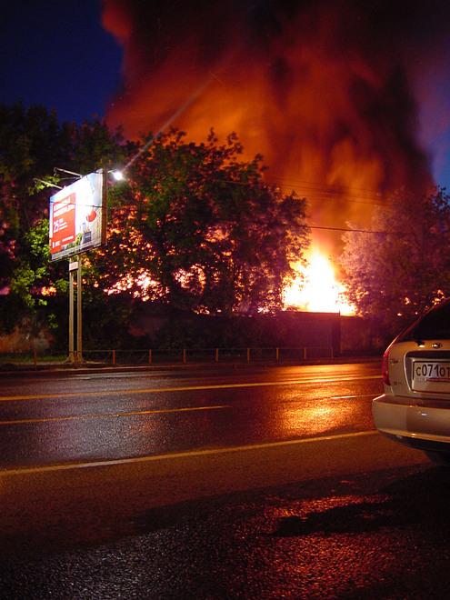 Взрыв склада на ул. Народного ополчения