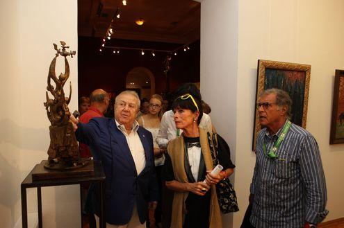 Джеральдина Чаплин посетила Российскую академию художеств