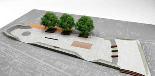 Скейт-парки впишутся в уличный дизайн
