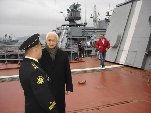 Владимир Спиваков первым привез во Владивосток симфонический оркестр