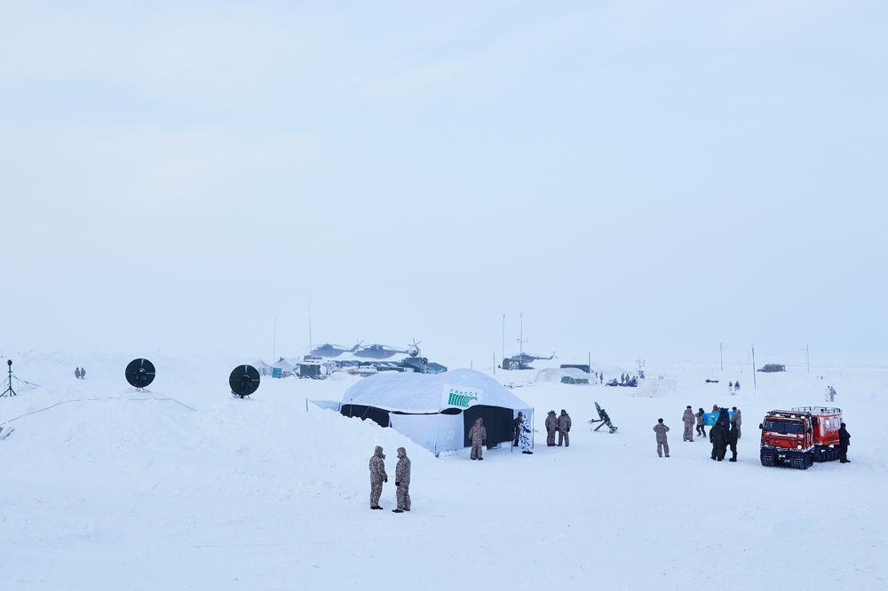Десантников испытали Арктикой