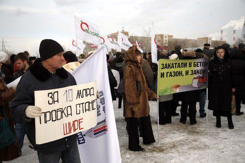 Расширение Щелковского шоссе натолкнулось на протесты жителей