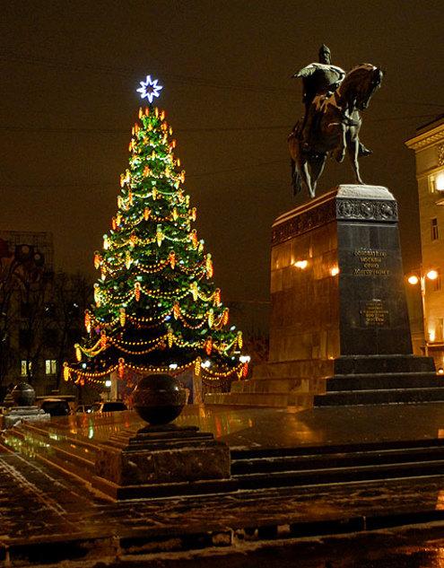 Хит-парад столичных елок