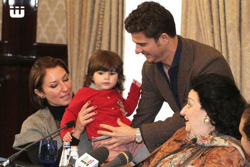 На день рождения Баскова прилетела Монсеррат Кабалье с семьей