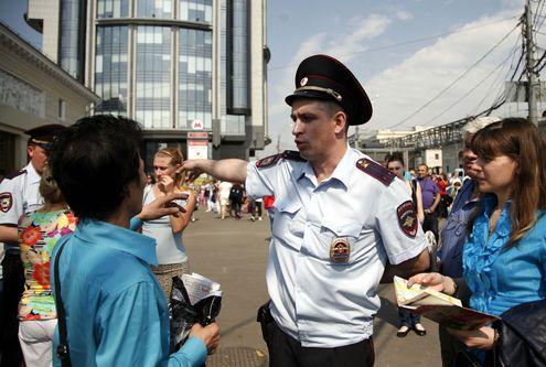 Как эвакуировали людей из московского метро во время пожара