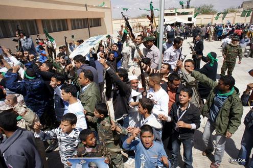 Ливия готовится дать отпор наземной интервенции НАТО