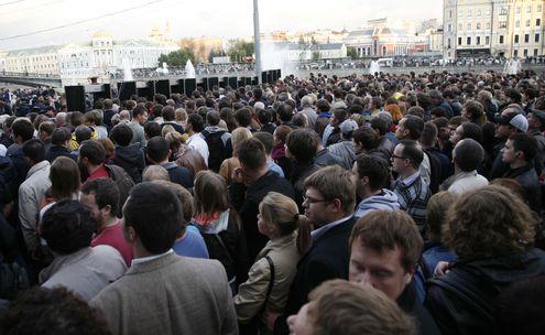 На митинге Навальный констатировал рождение новой оппозиции