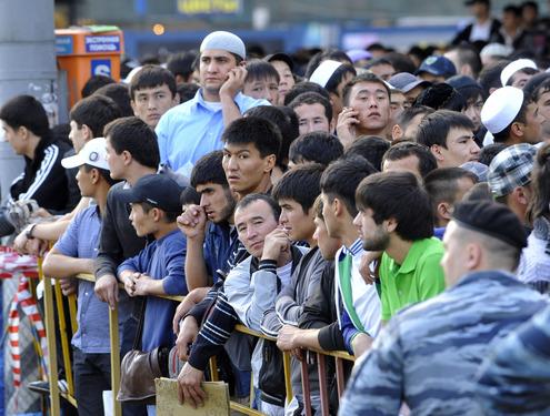 30 августа в Москве мусульмане отмечали праздник Ураза-байрам