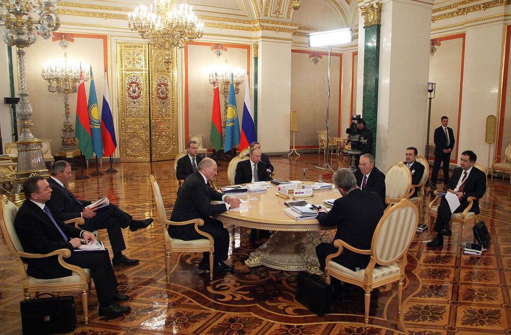 В Кремле обсудили евразийское развитие