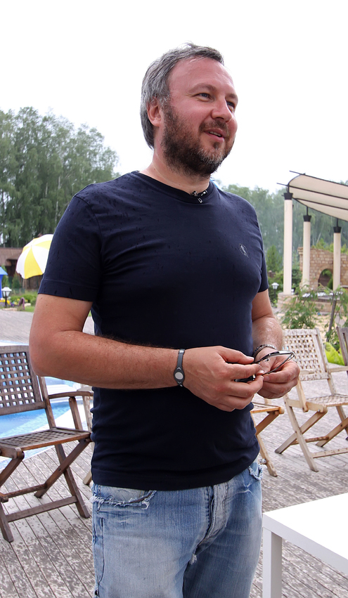 Съемки нового клипа продюсера Андрея Грозного