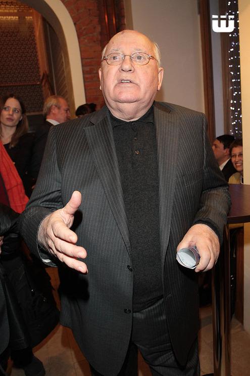 Алла Пугачева на премьере «Михаил Горбачев. От первого лица»