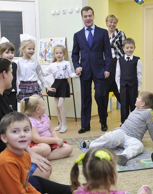 Когда Президент России был маленький, он тоже не хотел идти в детсад
