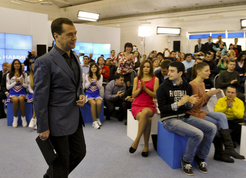 Медведев встретился с блогерами