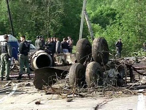 Авиакатастрофа ТУ-134 в Карелии