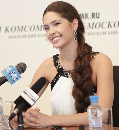 «Мисс Россия 2012» Елизавета Голованова в редакции МК