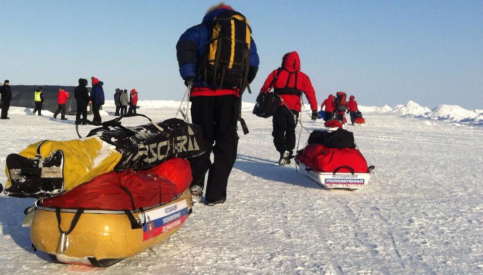 Дети с ограниченными возможностями успешно завершили экспедицию «Северный полюс-2014»