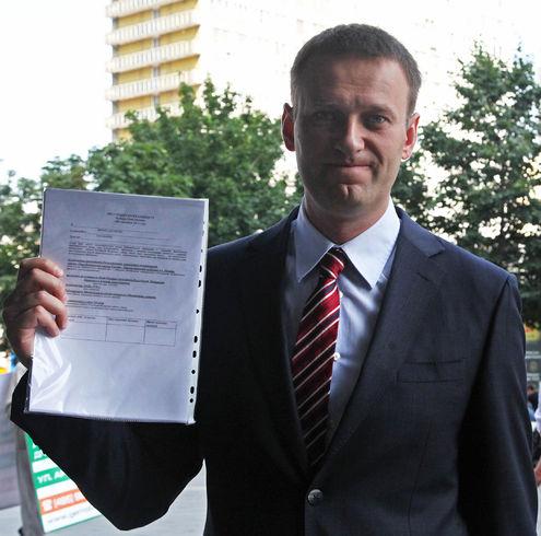 Навальный и Паук собирают подписи