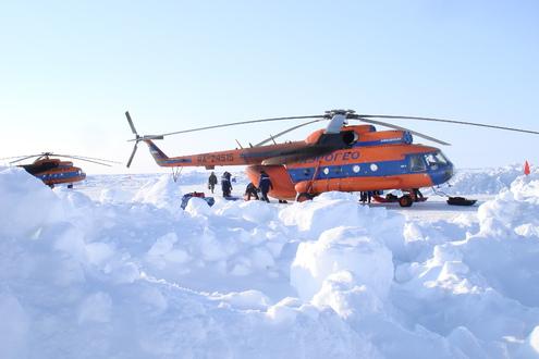 «Шпарята» в пятый раз проложили тропу к Северному полюсу