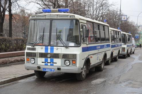 Акция в Москве против ювенальной юстиции