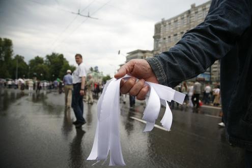 """В Москве прошел """"Марш миллионов"""""""