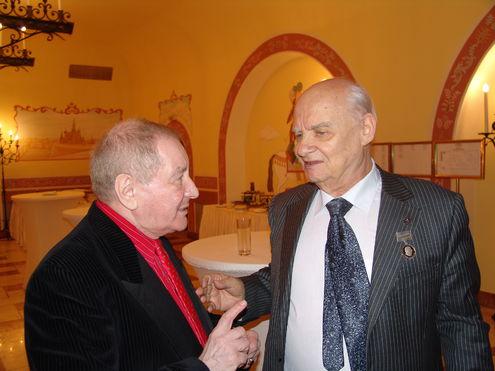 Поэту Николаю Добронравову исполнилось 85 лет