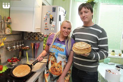 Наталия Гулькина подсадила семью на блины с икрой