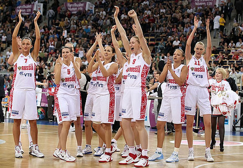 Российские баскетболистки стали чемпионами Европы