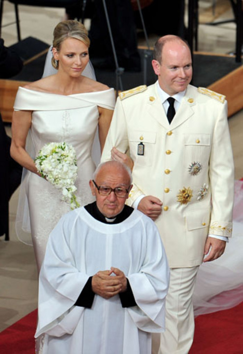 Свадьба князя Монако не обошлась без курьеза