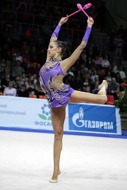В Москве состоялся первый этап Гран-при по художественной гимнастике