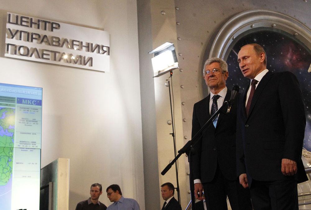 Владимир Путин посетил Музей космонавтики