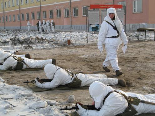 Российская армия на границе с Китаем